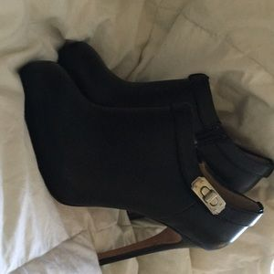 Coach high heel boots